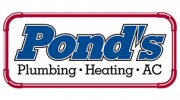 Pond's Plumbing, Heating and Air Conditioning
