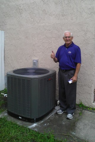 Another happy HVAC customer!