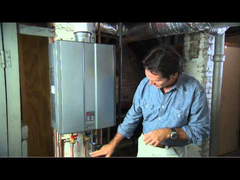 Tankless Water Heater Functions