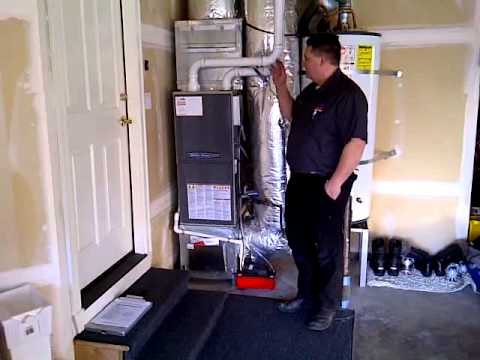 95 percent high efficient gas furnace Installed
