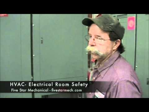 Electrical room safety tip