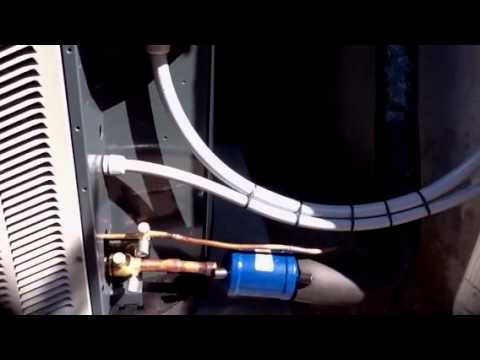 5 Ton Heat Pump Trane XB13 - System Replacement