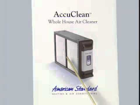 American Standard AccuClean Indoor Air Quality