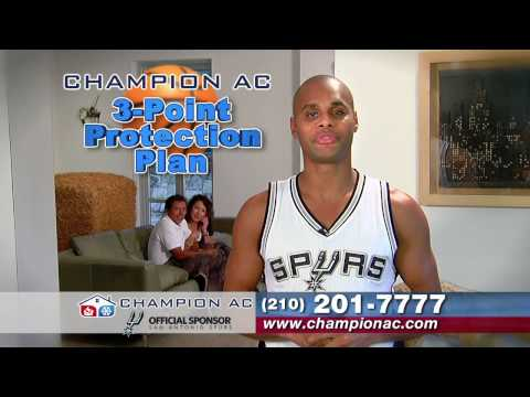 Champion AC Commercial with Patty Mills of the San Antonio Spurs
