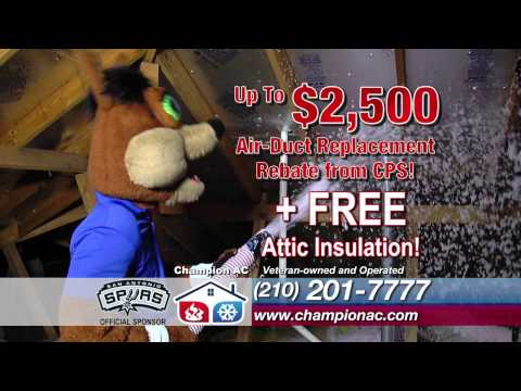 Champion AC Air Duct Replacement Fall 2013 Commercial