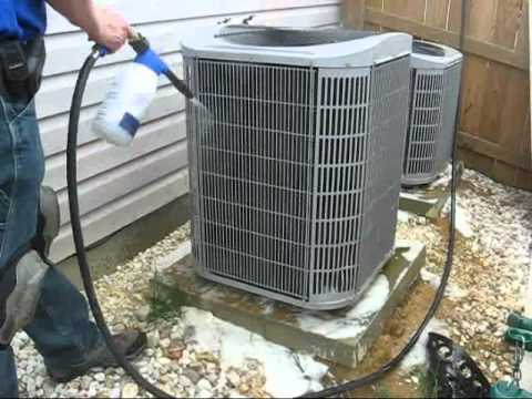 How To Clean A Heat Pump's Coils