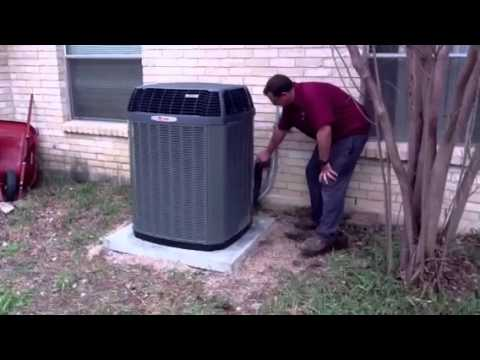 3 Ton XL15 I-Trane Air Conditioning System Installation