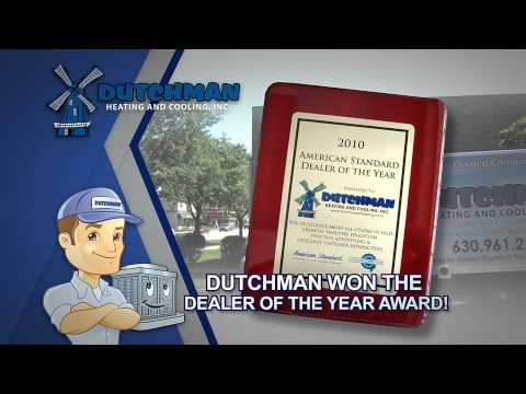 Dutchman Heating Cooling Dealer of the Year