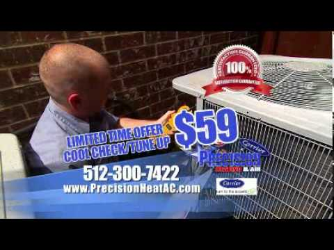 Our Latest TV Commercial - Precision Heating & Air, LLC.